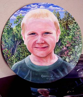 Painting - Outdoors Boy by Ruanna Sion Shadd a'Dann'l Yoder