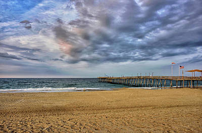 Photograph - Outer Banks At Sunset by Brendan Reals