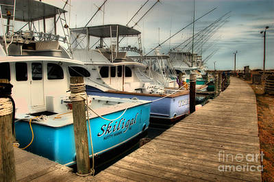 Photograph - Outer Banks Fishing Boats Waiting by Dan Carmichael
