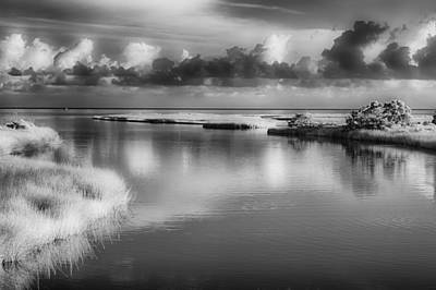 Photograph - Outer Banks Memories 2 Bw by Dan Carmichael