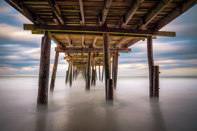 Photograph - Outer Banks Nc Seascape Nags Head North Carolina by Dave Allen