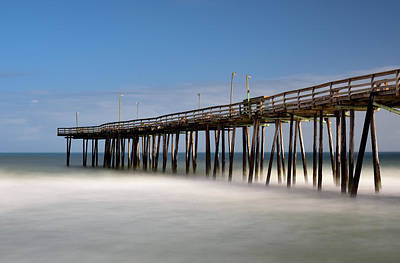 Photograph - Outer Banks Pier by Jamie Pattison