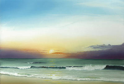 East Coast Sunrise Art Print