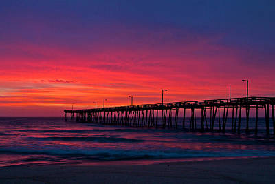 Photograph - Outer Banks Sunrise by Don Mercer