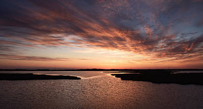 Photograph - Outer Banks Sunrise by Jamie Pattison