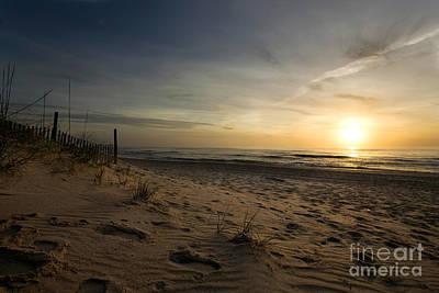 Sunset Photograph - Outer Banks Sunrise by Matt Tilghman