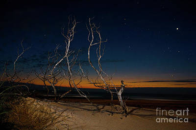 Photograph - Outer Banks Sunrise With Venus And Scorpio by Dan Carmichael