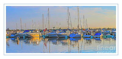 Photograph - Outer Harbor Marina by Darleen Stry