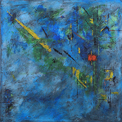 Painting - Outer Limits by Jim Benest