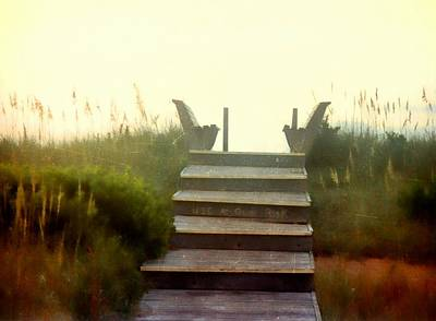Photograph - Outerbanks Circa 1987 by JAMART Photography