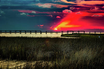 Photograph - Outerbanks Sunset by Pete Federico