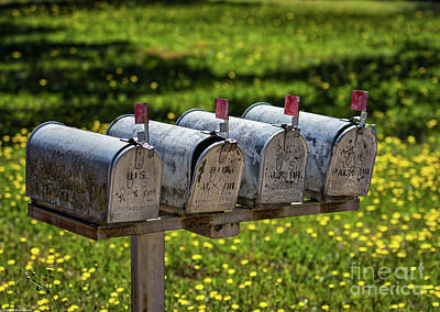 Photograph - Outgoing Mail by Mitch Shindelbower