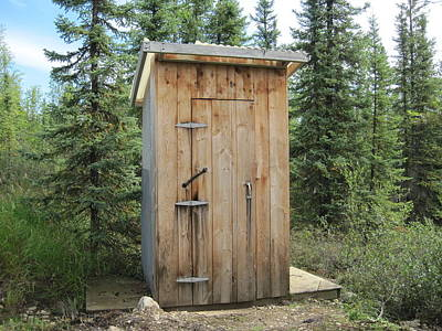 Photograph - Outhouse  by Lucinda VanVleck