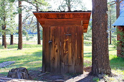 Photograph - Outhouse by Pamela Walrath