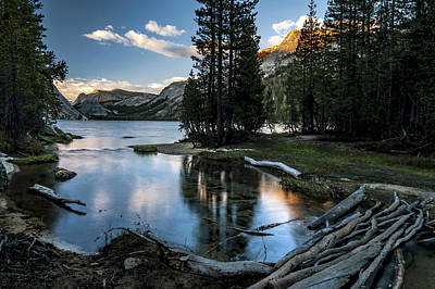 Photograph - Outlet At Tenaya Lake by Cat Connor
