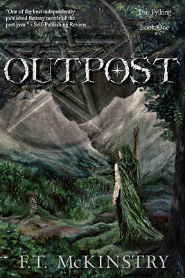 Painting - Outpost Cover Art by FT McKinstry