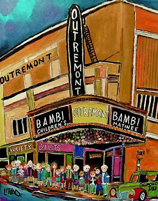 Outremont Theater Matinee Original