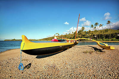 Beaches Photograph - Outrigger by Marcia Colelli