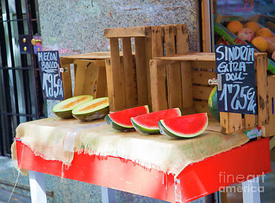 Bama Photograph - Outside Fruit Sales Market  by Chuck Kuhn