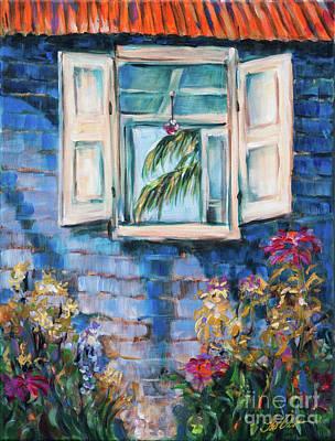 Painting - Outside Inside Outside by Linda Olsen