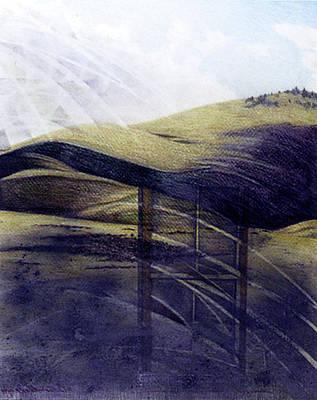 Drawing - Outside Looking In by Ceilon Aspensen