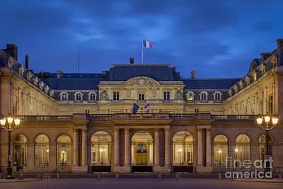Photograph - Outside The Gate To Palais Royal - Paris by Brian Jannsen