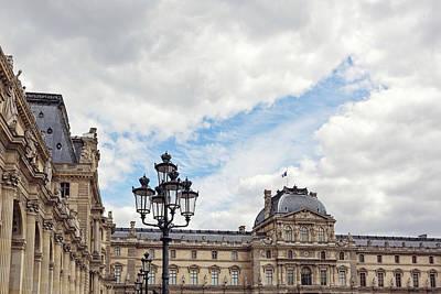 Photograph - Outside The Louvre - Paris, France by Melanie Alexandra Price