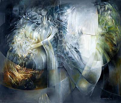 Outside The Senses Original by Alicja Chorociej