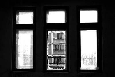 Vandalize Photograph - Outside The Window by Calinciuc Iasmina