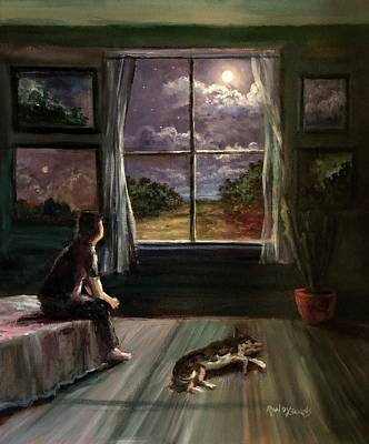 Painting - Outside The Window.  Inside The Soul. by Randy Burns