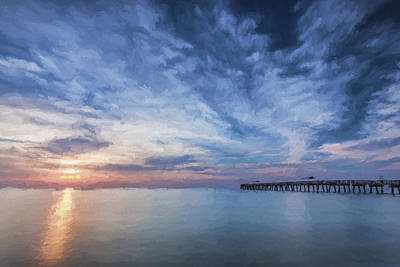 Pier Digital Art - Outside Today II by Jon Glaser