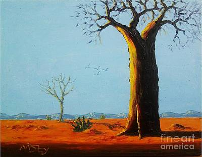 Malawi Painting - Outskirt by Nisty Wizy