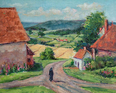 Painting - Outskirts Of Rimont by Jill Musser