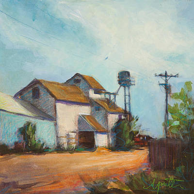 Dirt Roads Painting - Outsourced by Athena  Mantle