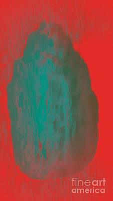 Digital Art - Outward Glow by Rachel Hannah