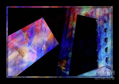 Digital Art - Ouvertures/openings by Karo Evans