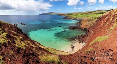 Photograph - Ovahe Beach On Rapa Nui by Olivier Steiner