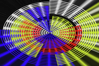 Digital Art - Oval Color Catcher by Tom Janca