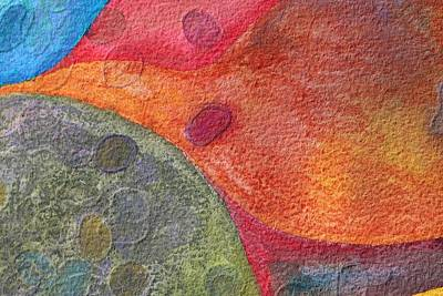 Painting - Ovals 2 by Modern Art