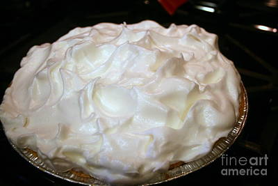 Photograph - Oven Ready Lemon Meringue Pie by Kay Novy