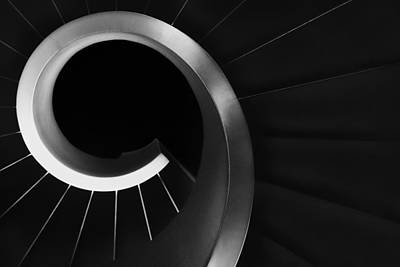 Staircase Photograph - Over And Under by Paulo Abrantes