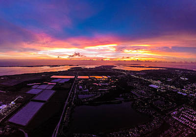 Photograph - Over Bradenton by Nicholas Evans