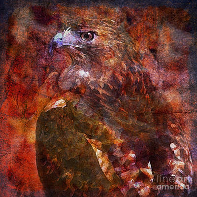 Digital Art - Over My Shoulder 2015 by Kathryn Strick