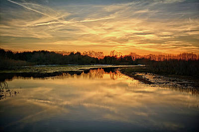 Photograph - Over Still Waters by Bonfire Photography