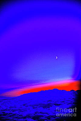 Photograph - Over The Blue by Rick Bragan