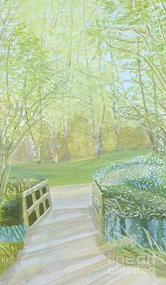 Painting - Over The Bridge by Joanne Perkins
