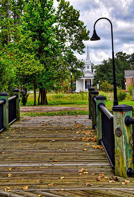 Photograph - Over The Bridge by Linda Brown