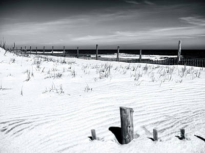 Photograph - Over The Dune Fence by John Rizzuto