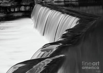 Photograph - Over The Edge Grayscale by Jennifer White