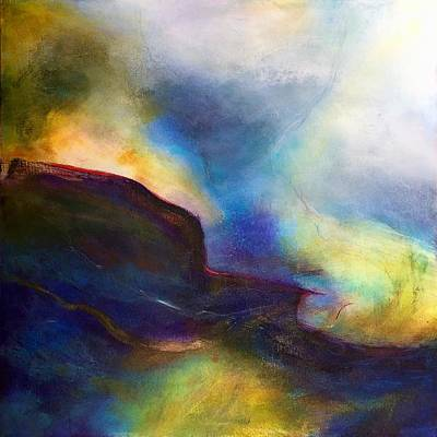 Wall Art - Painting - Over The Edge by Jeanne Byron